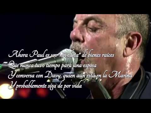 """Piano Man"" - Billy Joel - HD - Sub Castellano"