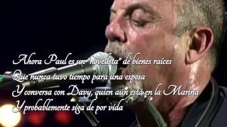 """Piano Man"" - Billy Joel - HD - Sub Castellano"