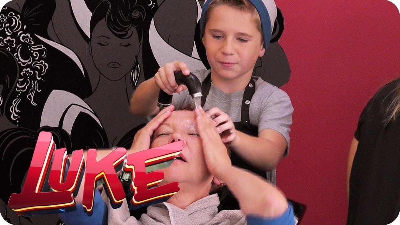 Download Robin ferngesteuert im Friseursalon - LUKE! Die Woche und ich