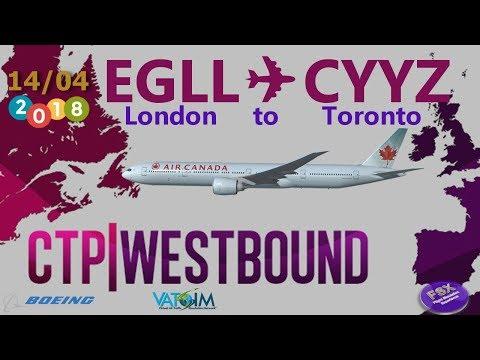 [**LONG HAUL**] CROSS THE POND WESTBOUND 2018 | I London Heathrow (EGLL)  ✈ Toronto Pearson (CYYZ)