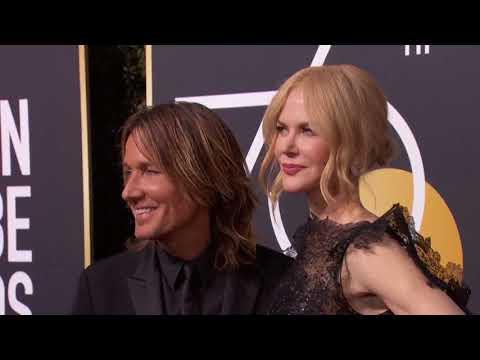 Nicole Kidman & Keith Urban Golden Globe Awards...