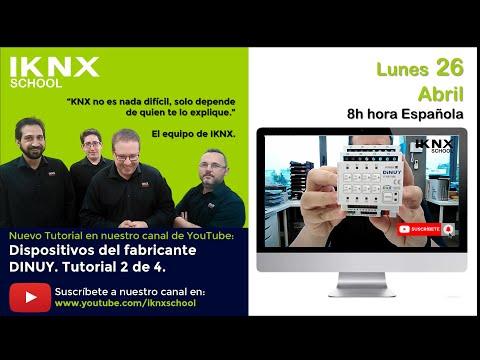 TIPS KNX Nº162.  Los productos más interesantes del fabricante DINUY. Tutorial 2 de 4.