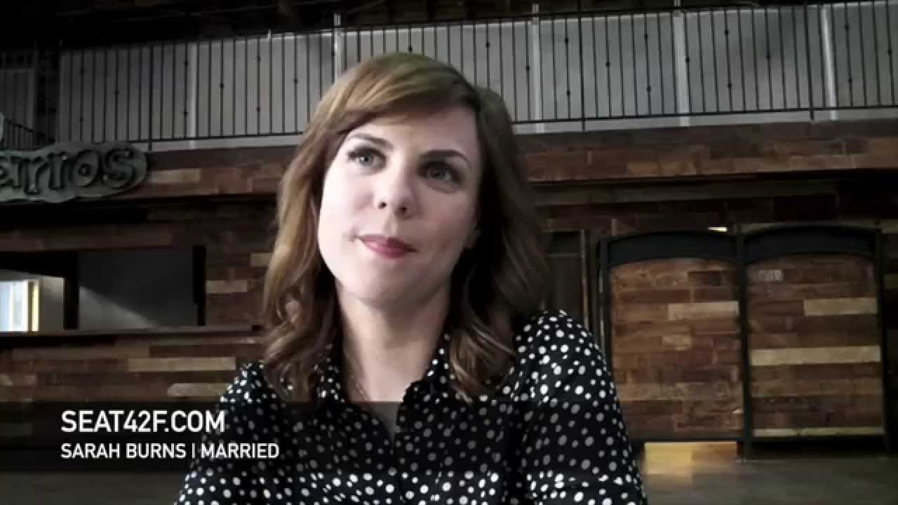 Sarah Burns Married Set Visit Interview Youtube