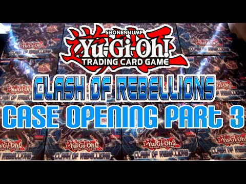 Yugioh Clash of Rebellions Box Opening 12 Boxes 288 Packs Part 3