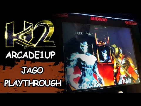 KILLER INSTINCT 2 ARCADE1UP - JAGO 80 HITS AND PLAYTHROUGH // Let's play from JDCgaming