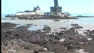 First Tsunami Sea Dried Vivekananda Rock Thiruvalluvarstatue Kanniyakumari