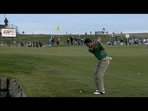 Phil Mickelson's short game magic at the 1996 Phoenix Open