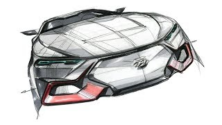 Car sketch & design(HYUNDAI N)