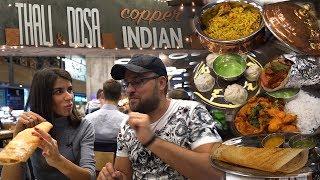 Обзор заведения Thali & Dosa Москва. Индийская кухня по вашим заявкам. Ну... как бы... #PRostoEda
