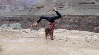 Press Handstands on the Edge of the Grand Canyon (WK 319.5) | Bratayley