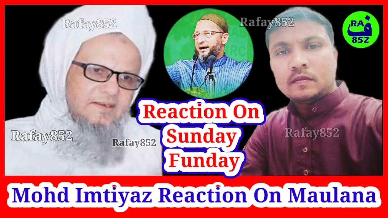 Download Maulana Jafar Pasha On Sunday Funday, Mohd Imtiyaz Reaction On Jafar Pasha Speech @rafay852