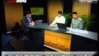 Signs of the Promised Messiah_ Sun and Moon Eclipse-persented by khalid Qadiani.flv