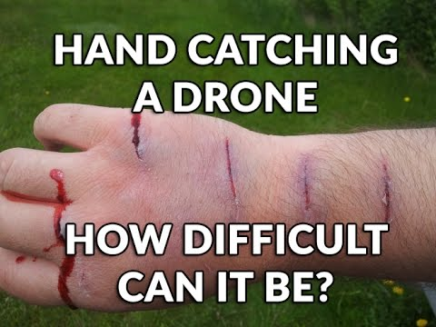 Hand Catching a Drone... How Difficult can it be?