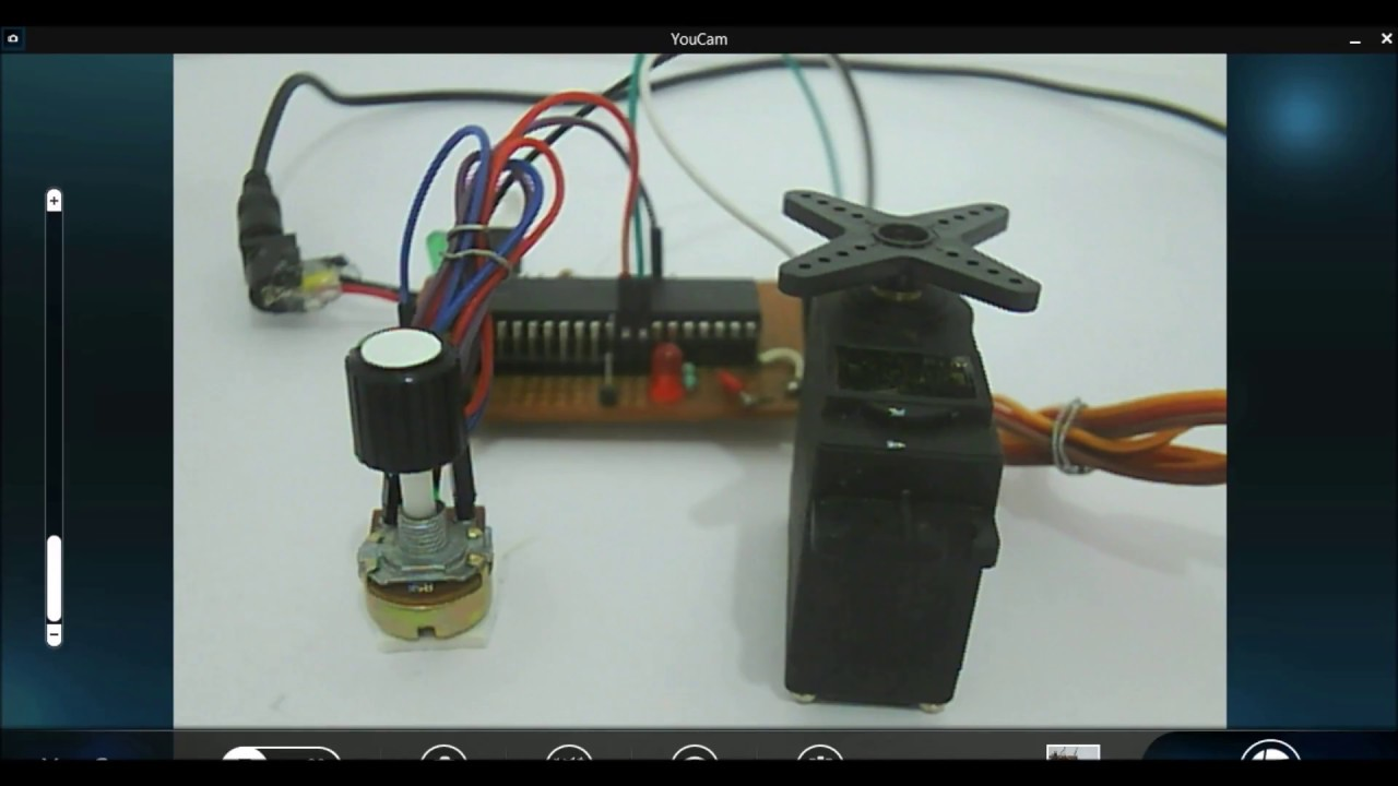 How to control servo motor with pic microcontroller youtube for How to control servo motor