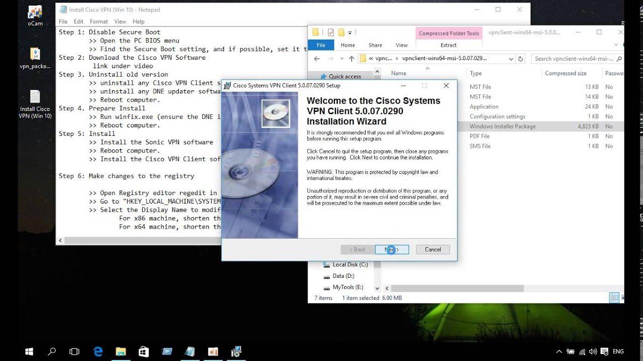 Cisco vpn client for windows 10 64 bit free download