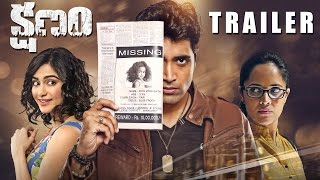 Kshanam Trailer - Adivi Sesh, Adah Sharma, Anasuya Bharadwaj | 26th FEB 2016