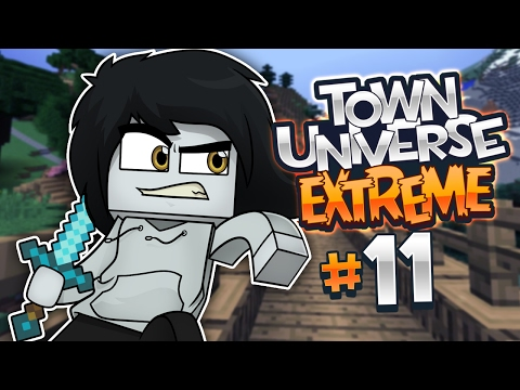 TOWN UNIVERSE EXTREME: HUESITOS, MI COMPAÑERO Y AMIGO #11 (MINECRAFT SERIE DE MODS)