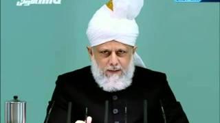 English Friday Sermon 28th January 2011 Islam Ahmadiyya clip4