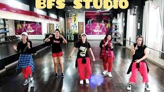 "Zumba, Dangdut ""Masuk Pak Eko"" Remix / BFS Studio, Sangatta"