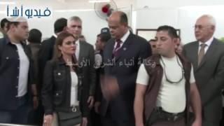 بالفيديو: محافظ مطروح ووزيرة التعاون الدولي يفتتحان مركز الأطراف الصناعية لمصابى الألغام