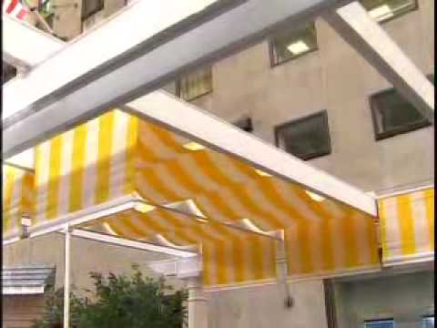 today show shadetree pergola retractable awning youtube