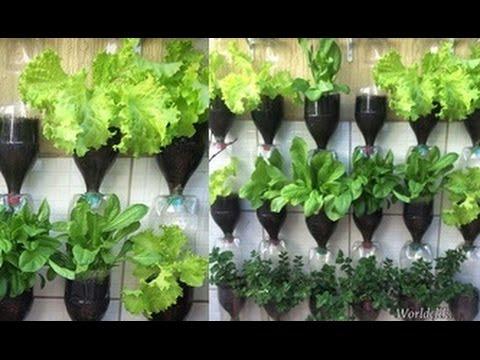 Bottle Tower Garden Youtube