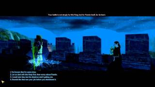 Neverwinter Nights 2 pc game, chapter 3, romance with Elanee