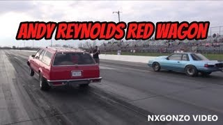 Andy Reynold's ProCharged Red Wagon