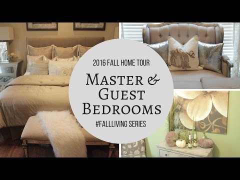 Fall Home Tour| Master & Guest Bedroom Updates | Haul