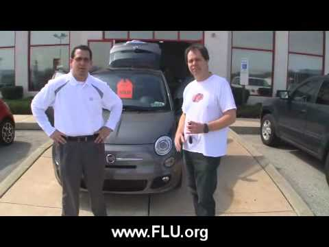 thad taking delivery of his fiat 500 jeff d 39 ambrosio auto group downingtown youtube. Black Bedroom Furniture Sets. Home Design Ideas