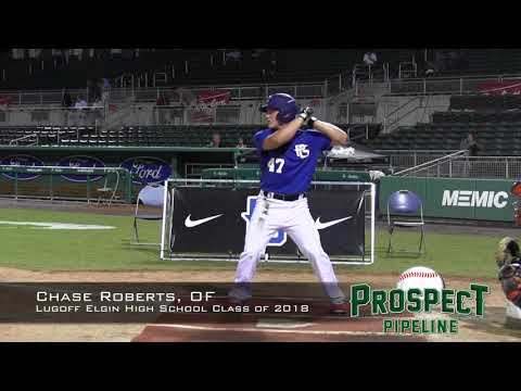 Chase Roberts prospect video, OF, Lugoff Elgin High School Class of 2018