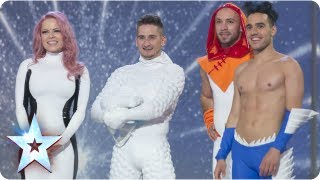 Freelusion the interactive dance superheroes | Semi-Final 3 | Britain's Got Talent 2013