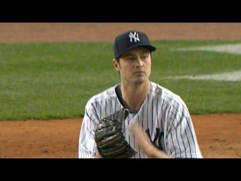 NYM@NYY: Yankees Relievers Hurl 4 2/3 Shutout Innings