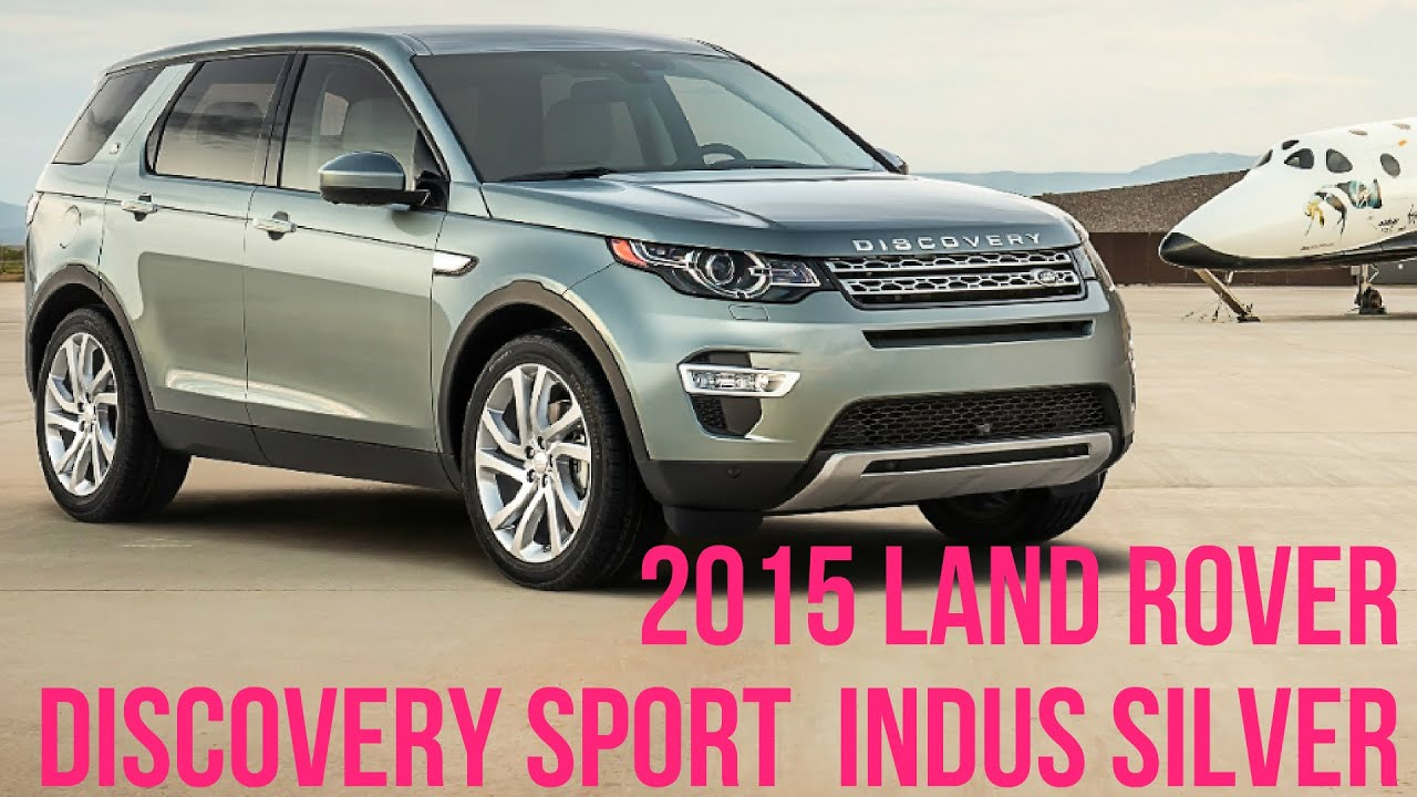 2015 Land Rover Discovery Sport Indus Silver Interior And