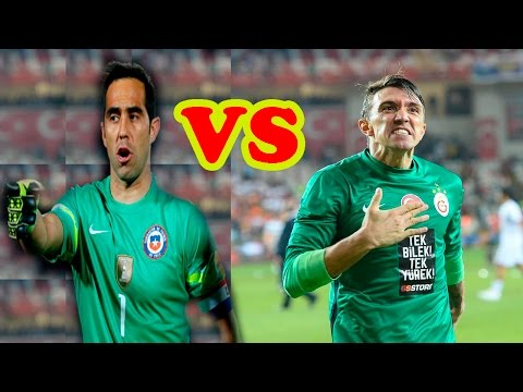 Chile vs Uruguay  | Claudio Bravo vs Fernando Muslera| The Best Saves | World Cup Qualifers 2018