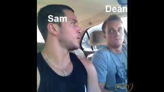 Supernatural as Vines to cope with losing my fave character again