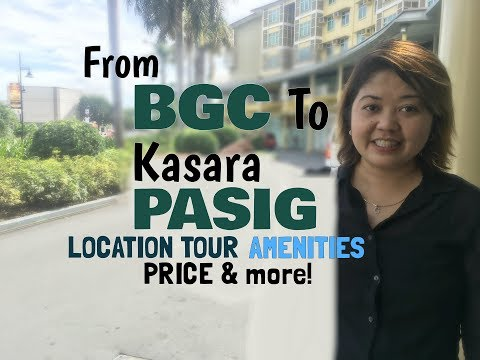 Rent To Own Condo BGC To Kasara Location Tour Amenities Model Units Part 1 by GraceDRealtor