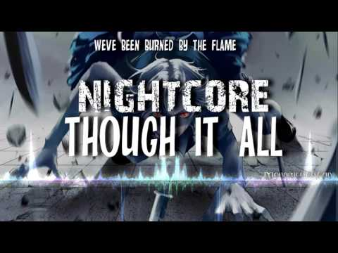 ►♫Nightcore♫ - Through It All [Spoken] + LYRICS