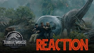 Jurassic World: Fallen Kingdom - Trailer Thursday (Run) (HD) - Reaction