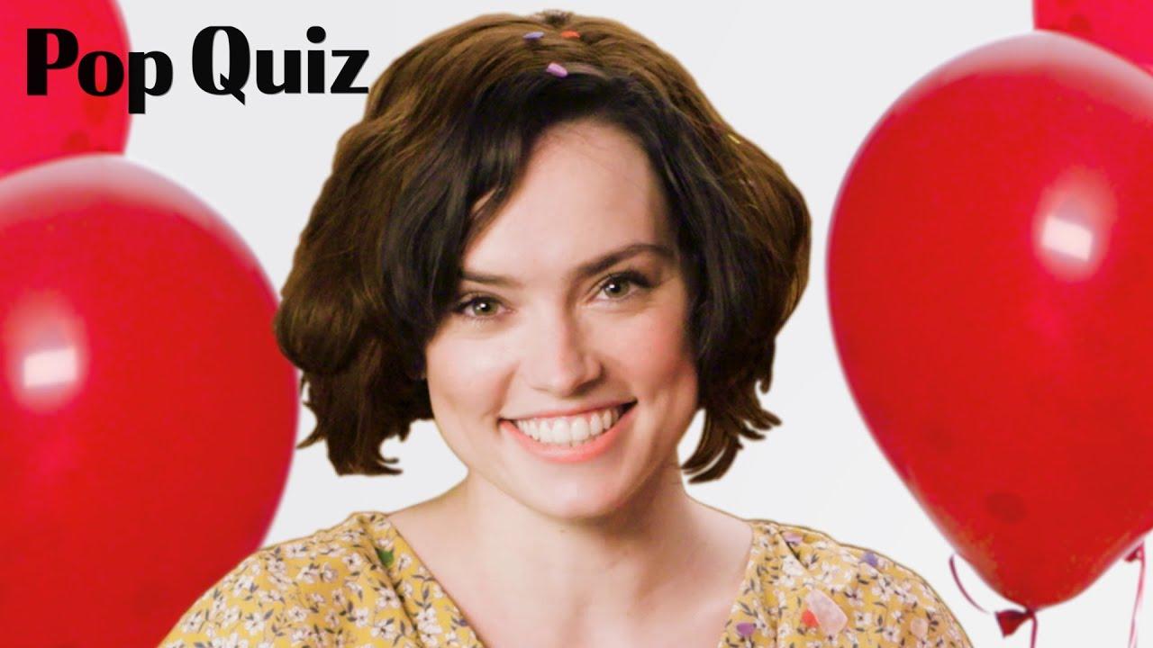 Daisy Ridley | Pop Quiz | Marie Claire