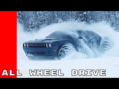 2017 Dodge Challenger GT AWD - All Wheel Drive