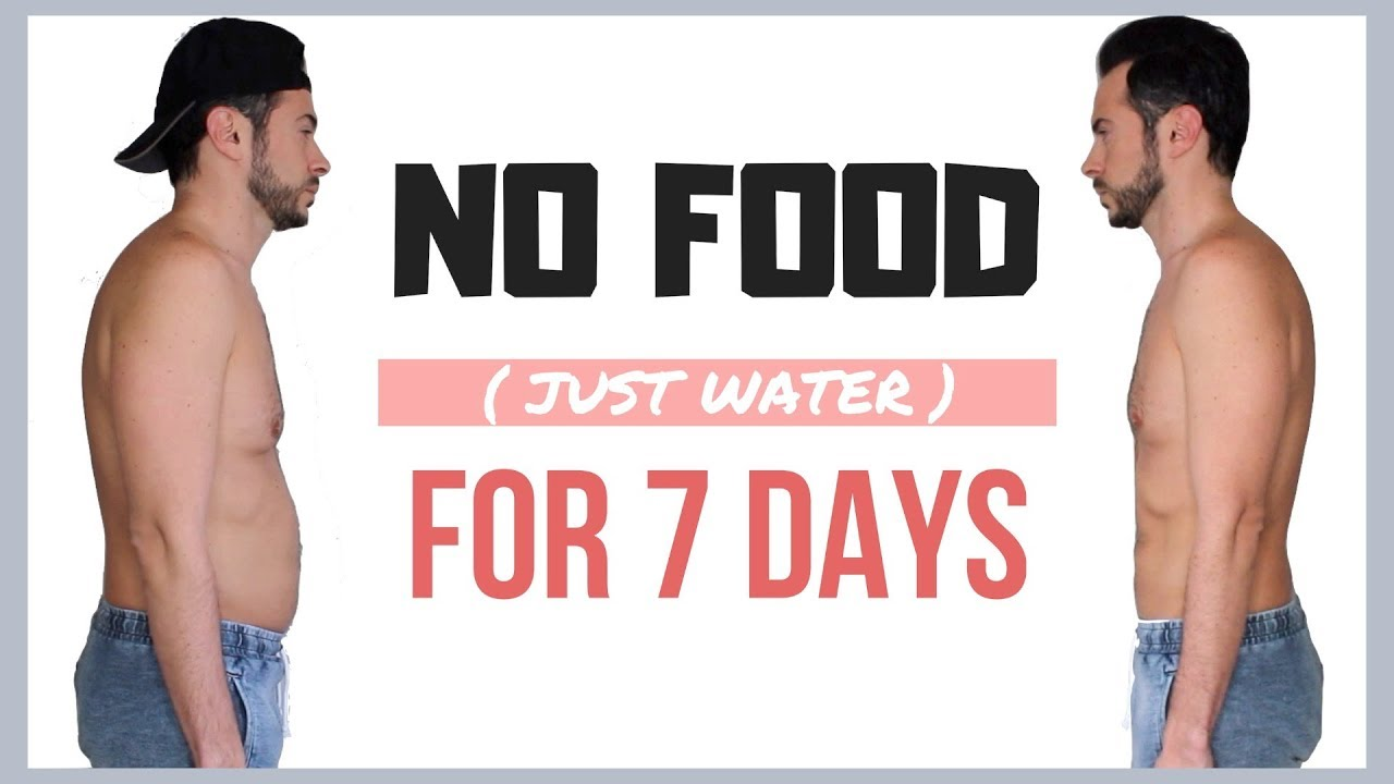 Guy Tries 7 DAY WATER FAST DIET???? No Food for A Week Results