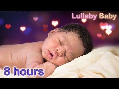 ☆ 8 HOURS ☆ Lullabies for babies to go to sleep ♫ ACOUSTIC GUITAR ☆ Baby Music to go to Sleep