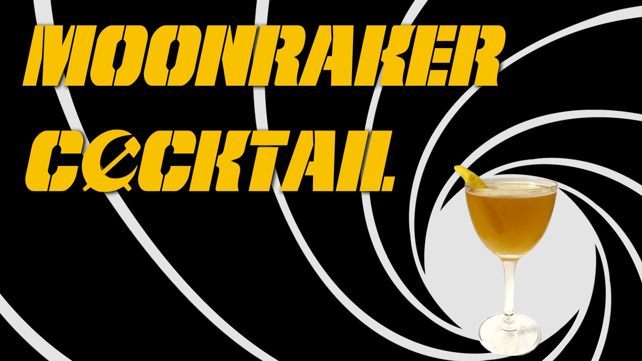 Moonraker Cocktail - a Vintage Drink with Cognac, Kina, Absinthe ...