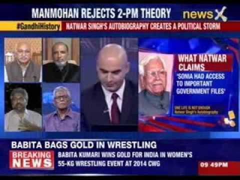 India Debates: Sonia-Natwar clash sparks war