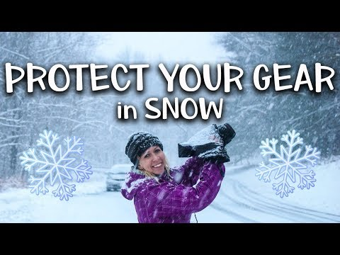 How To Protect Your Camera Gear In Snow & Cold Weather - 3 Snow Photography Tips!