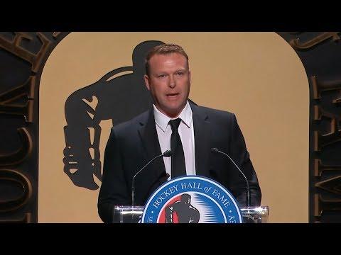 Martin Brodeur's emotional Hall of Fame speech