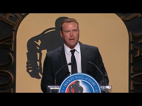 Martin Brodeur's emotional Hall of Fame speech