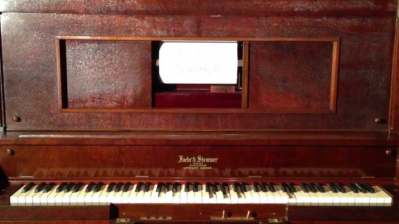 Quot Dill Pickles Rag Quot On A 1915 Fuehr Amp Stemmer Player Piano