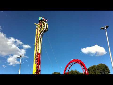 Sydney Royal Easter show 21/04/2011  carnival fear Coaster